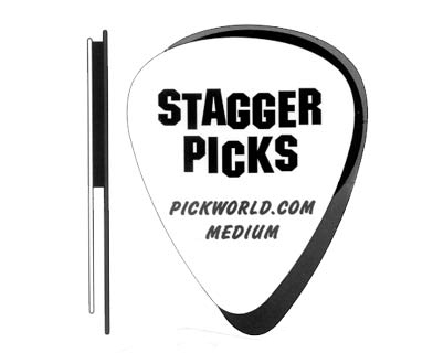 Stagger Picks 0.46mm Thin