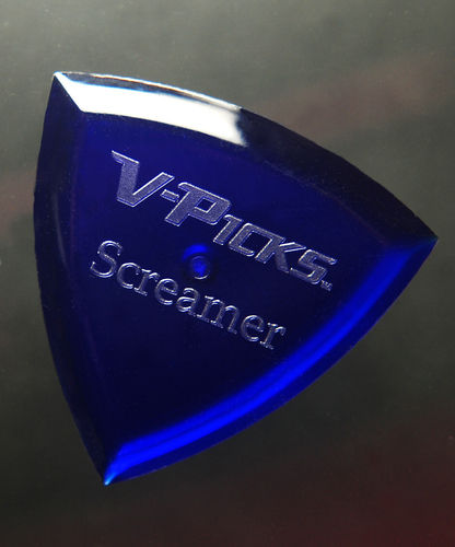 V-Picks - Screamer Sapphire Blue